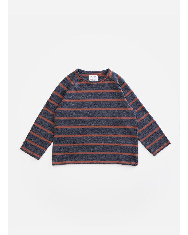 Play Up striped jersey sweater - rasp - R248G - PA03 - 3AH11356