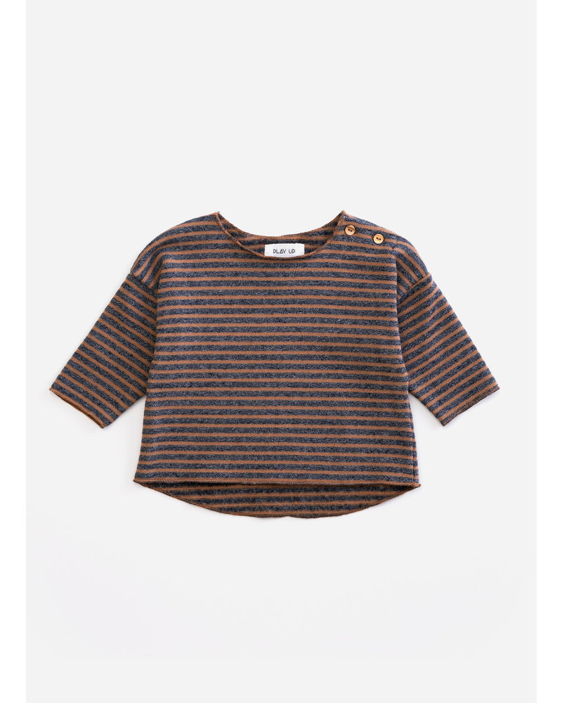 Play Up striped jersey sweater - cherry tree - R247Y - PA01 - 1AH11353