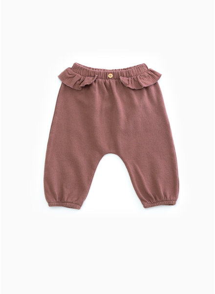 Play Up fleece trousers - purplewood - P4112 - PA02 - 2AH10906