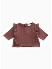 Play Up fleece sweater - purplewood - P4112 - PA02 - 2AH10901