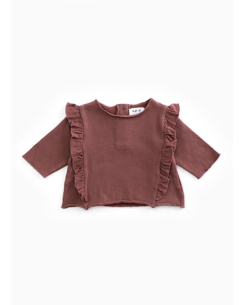Play Up fleece sweater - purplewood - P4112 - PA02 - 2AH10901