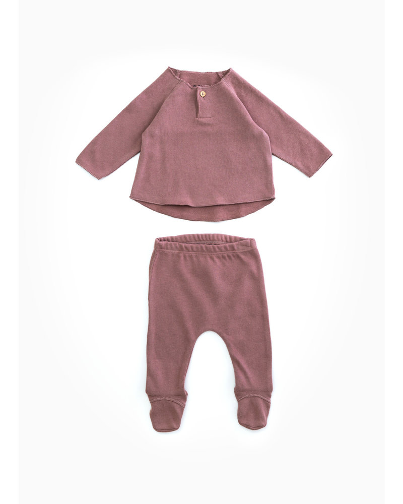 Play Up jersey set - purplewood - P4112 - PA00 - 0AH11551
