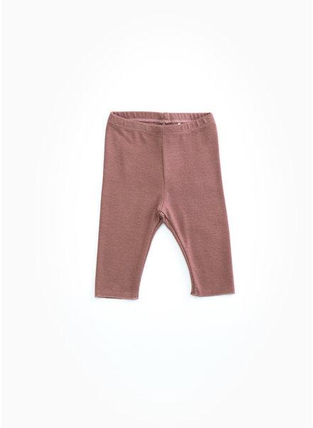 Play Up rib leggings - purplewood - P4112 - PA02 - 2AH10907