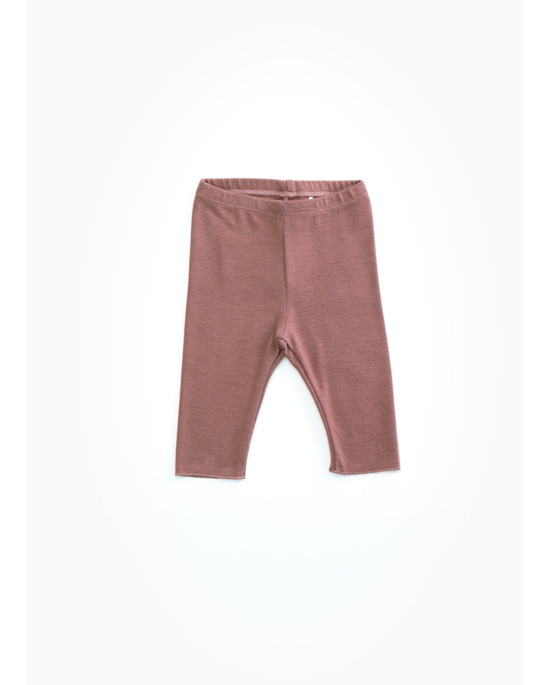 Play Up rib leggings - purplewood - P4112 - PA02 - 2AH10907