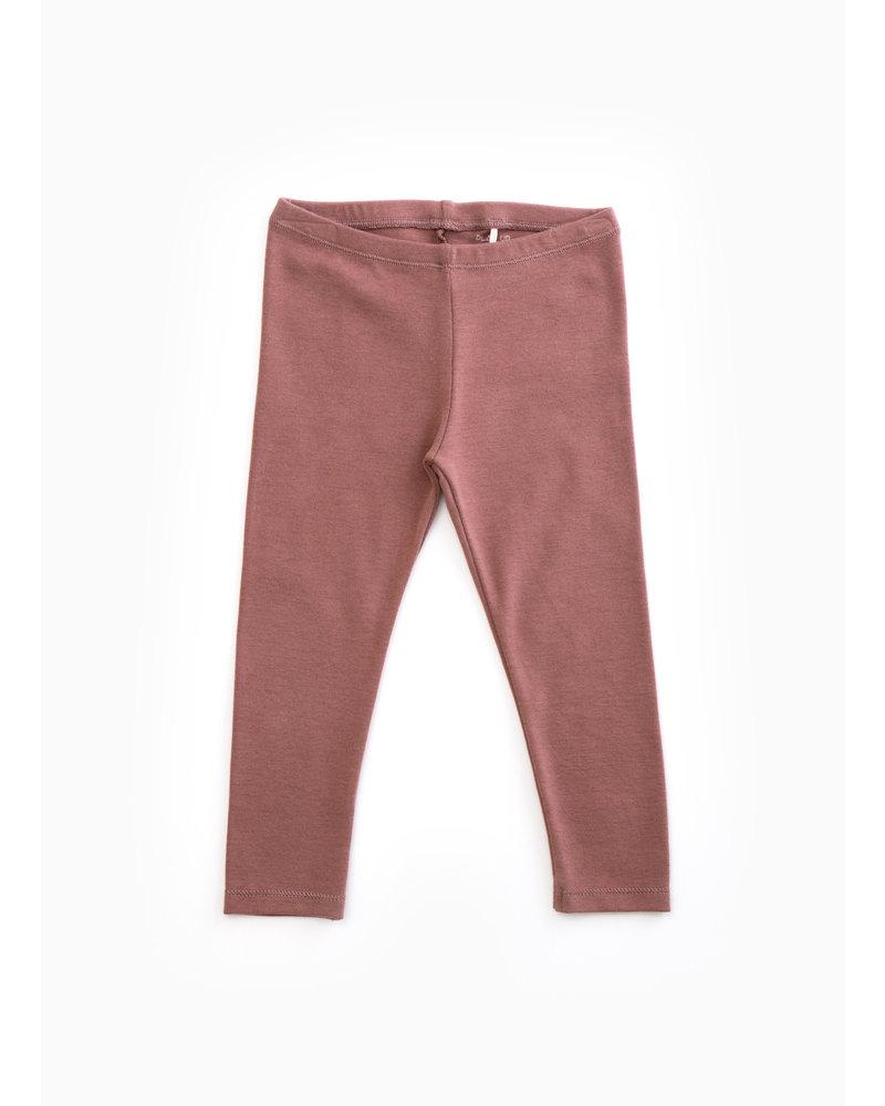 Play Up rib leggings - purplewood - P4112 - PA04 - 4AH10907