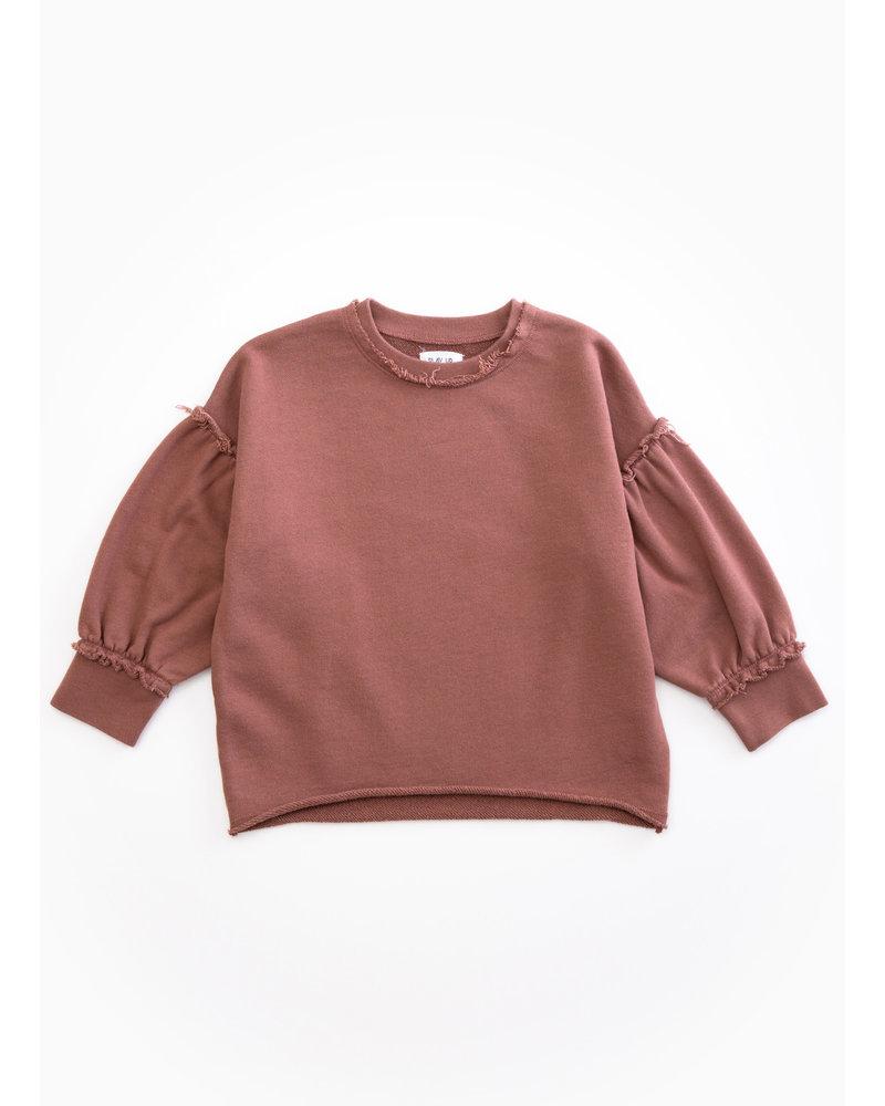 Play Up fleece sweater - purplewood - P4112 - PA04 - 4AH10902