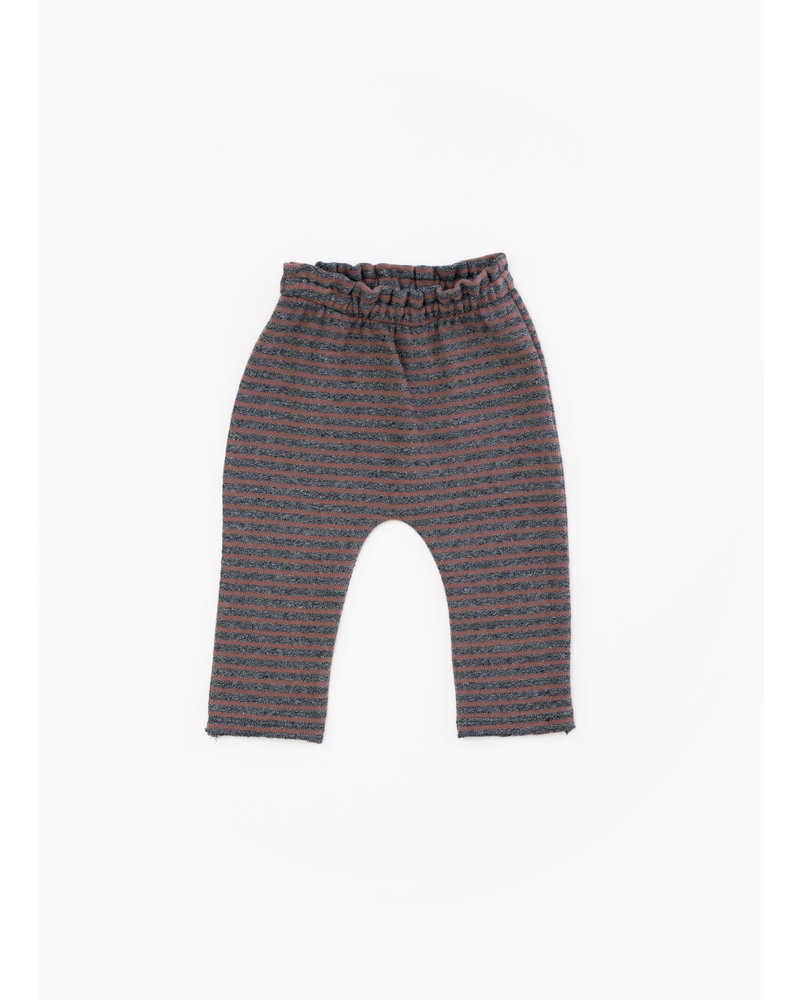 Play Up striped jersey leggings - purplewood - R246B - PA02 - 2AH11652