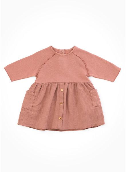 Play Up mixed dress - jotoba - P4111 - PA02 - 2AH10905