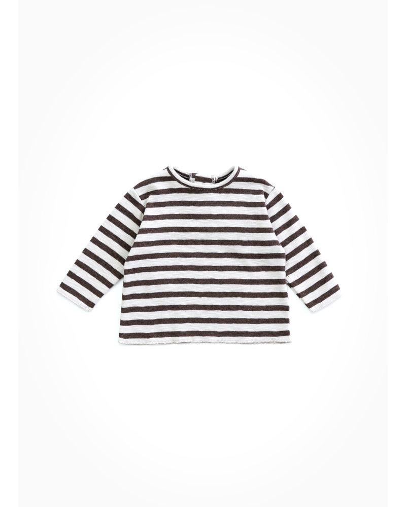 Play Up striped rib tshirt - ricardo - R243G - PA00 - 0AH11002