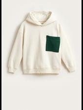 Bellerose bieko sweatshirt craie