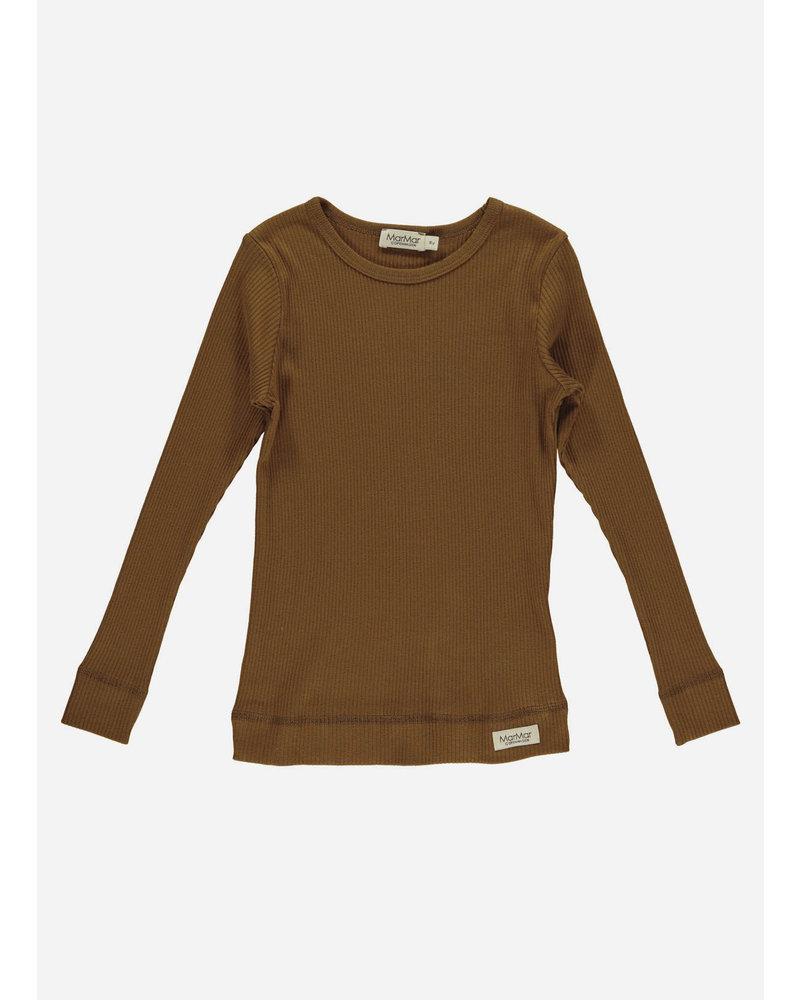 MarMar Copenhagen plain tee ls leather