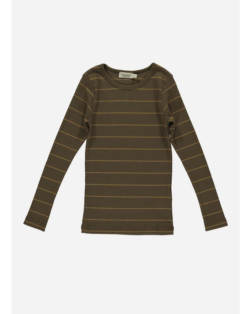 MarMar Copenhagen tani golden olive stripe