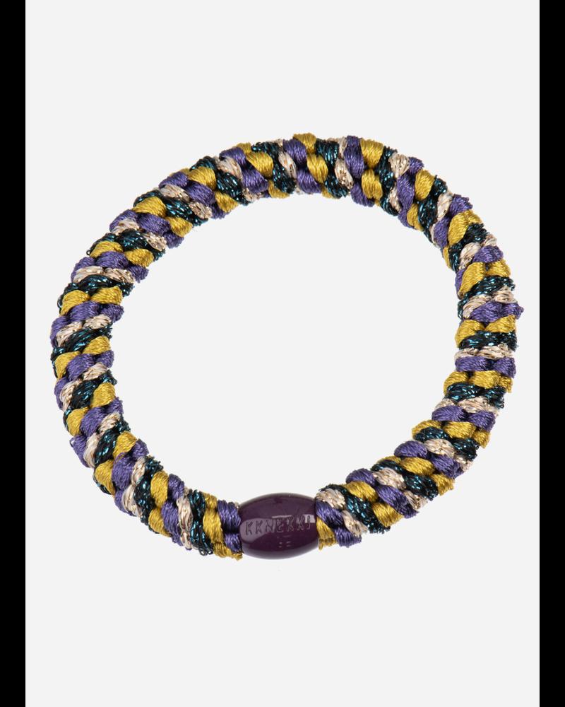 Kknekki by Bon Dep mix petrol purple glitter