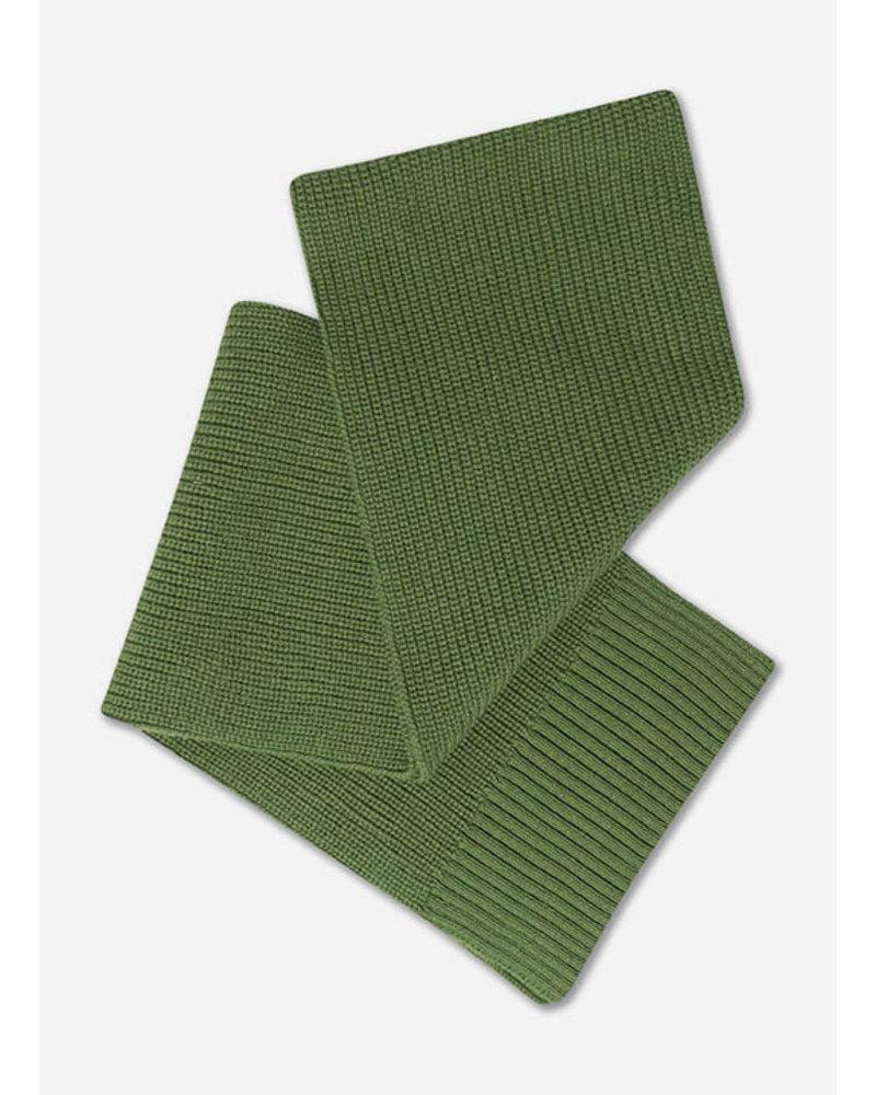 Repose knit scarf small hunter green