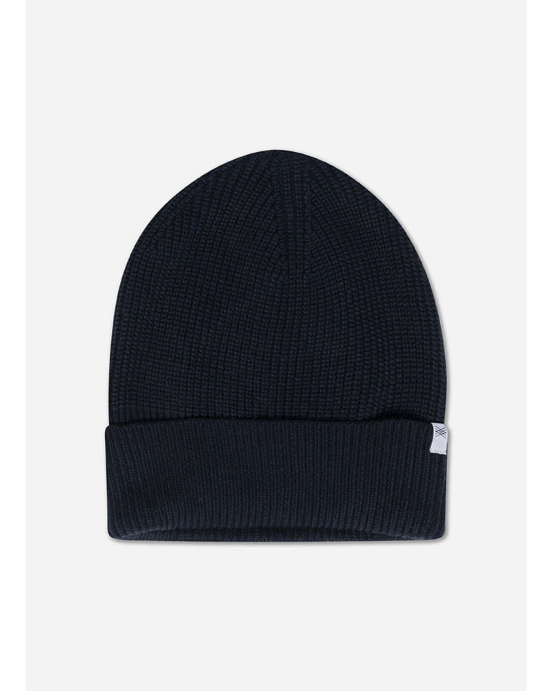 Repose knit hat navy blue