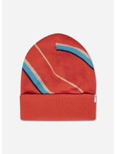 Repose knit hat diagonal stripe
