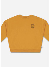Repose crewneck sweater radiant yellow