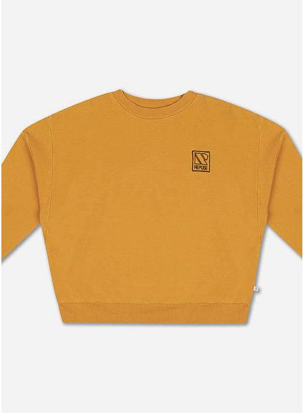 Repose crewneck sweater radiant yellow