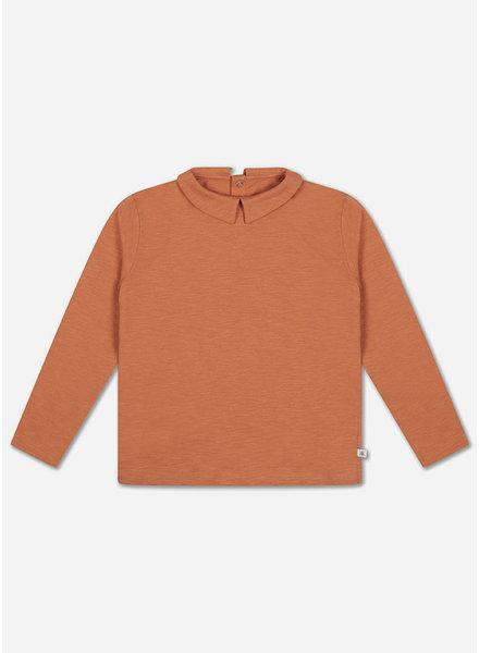 Repose shirt with collar burnt autumn