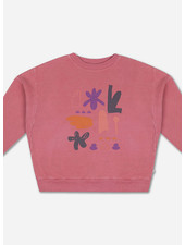 Repose crewneck sweater hot flamingo