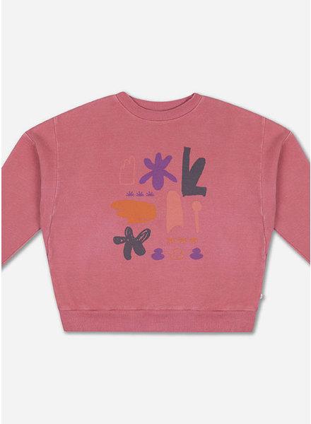 Repose crewneck sweater hot flamingo