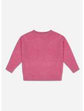 Repose knit boxy sweater glory pink