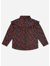 Repose moony blouse liberty marine poppy