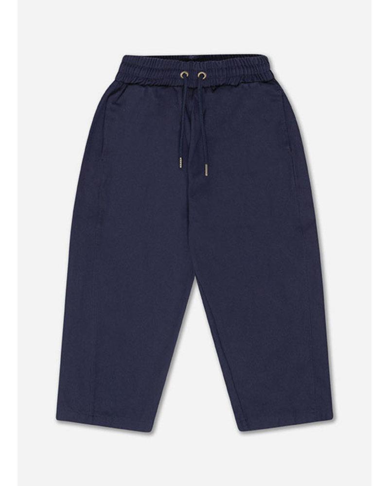 Repose woven jogger navy blue