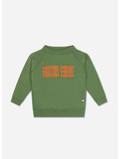 Repose classic sweater hunter green