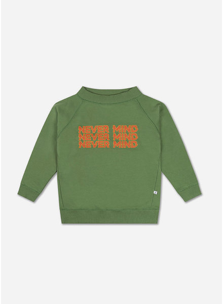 Repose classic sweater hunter green