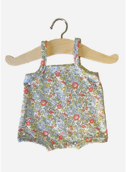 Minikane poppenkleertjes maillot Gilda liberty tana lawn bleu