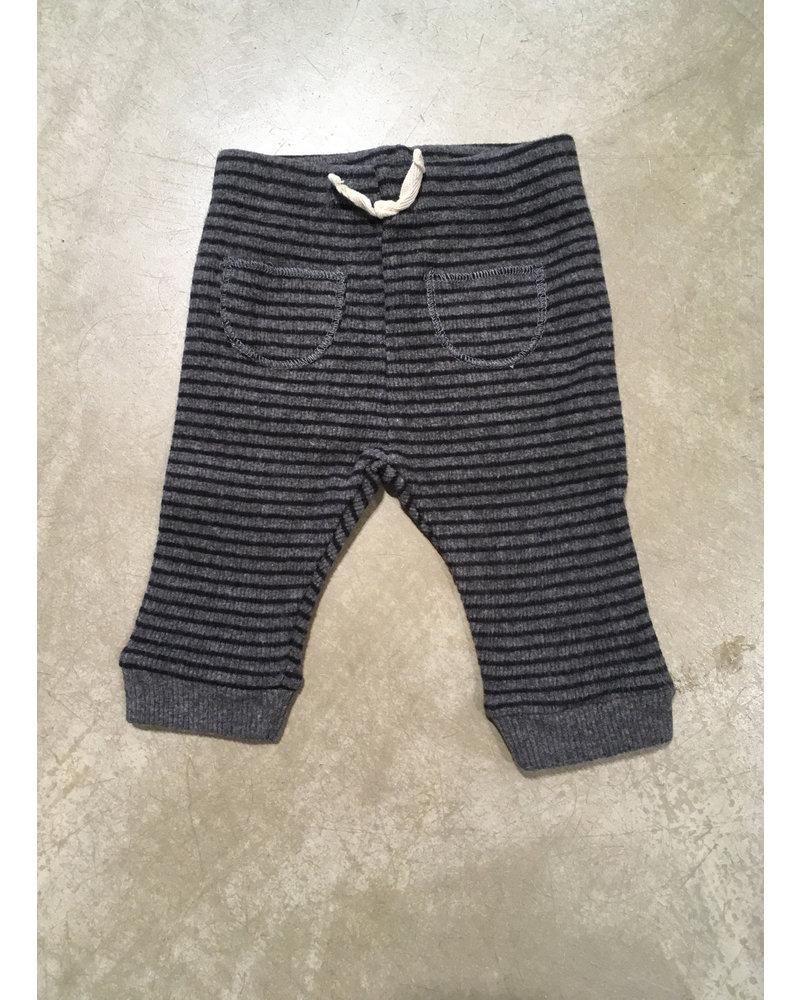 Buho joe legging grey/black