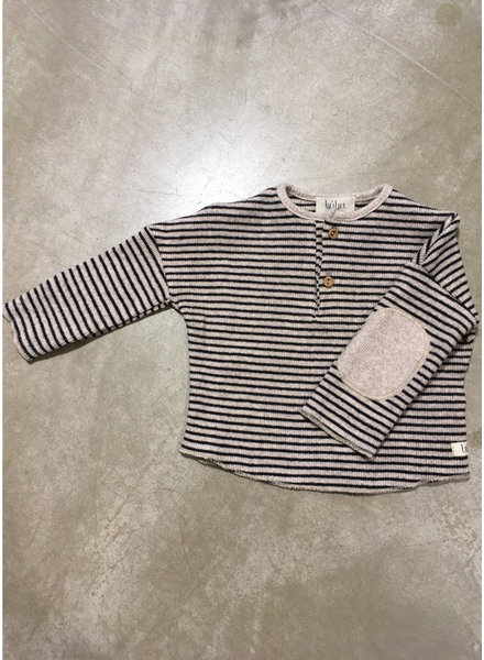 Buho cyril sweater natural/black