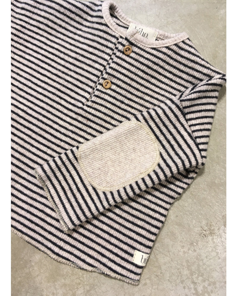 Buho cyril sweater natural/black