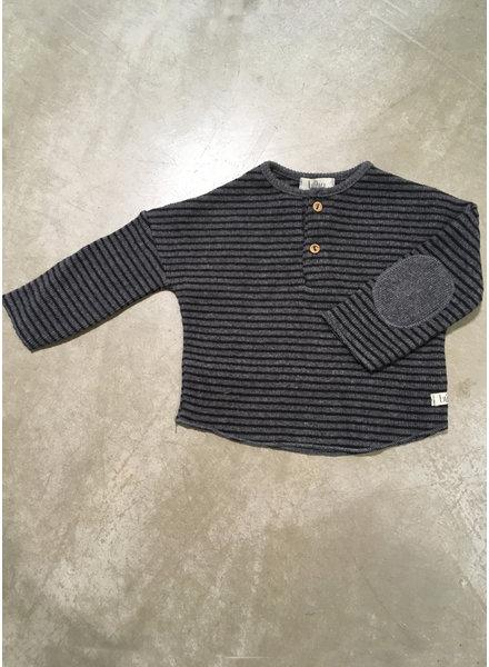 Buho cyril sweater grey/black