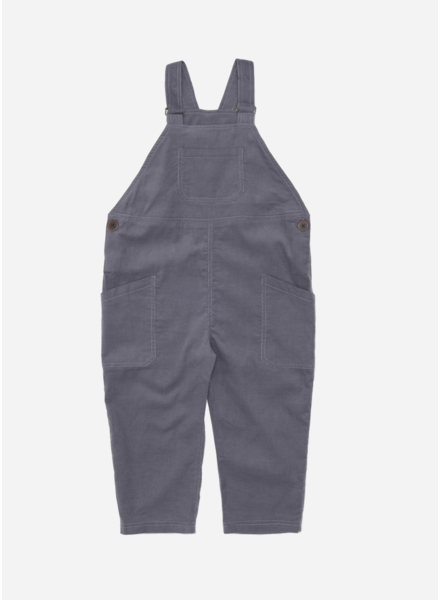 Wander & Wonder cord overalls charcoal