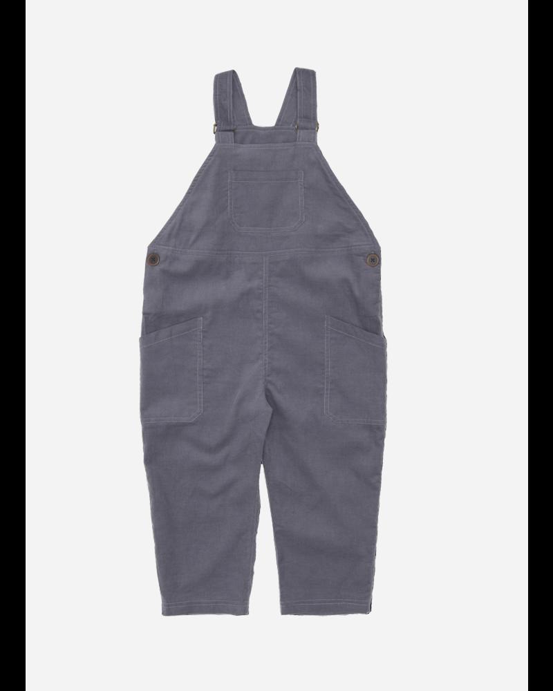 Wander & Wonder cord overalls charcoal