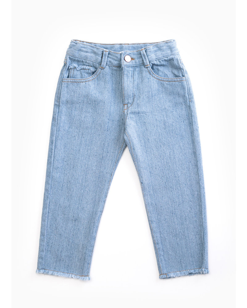 Play Up recycled denim trousers D001 - PA04 - 4AH11605