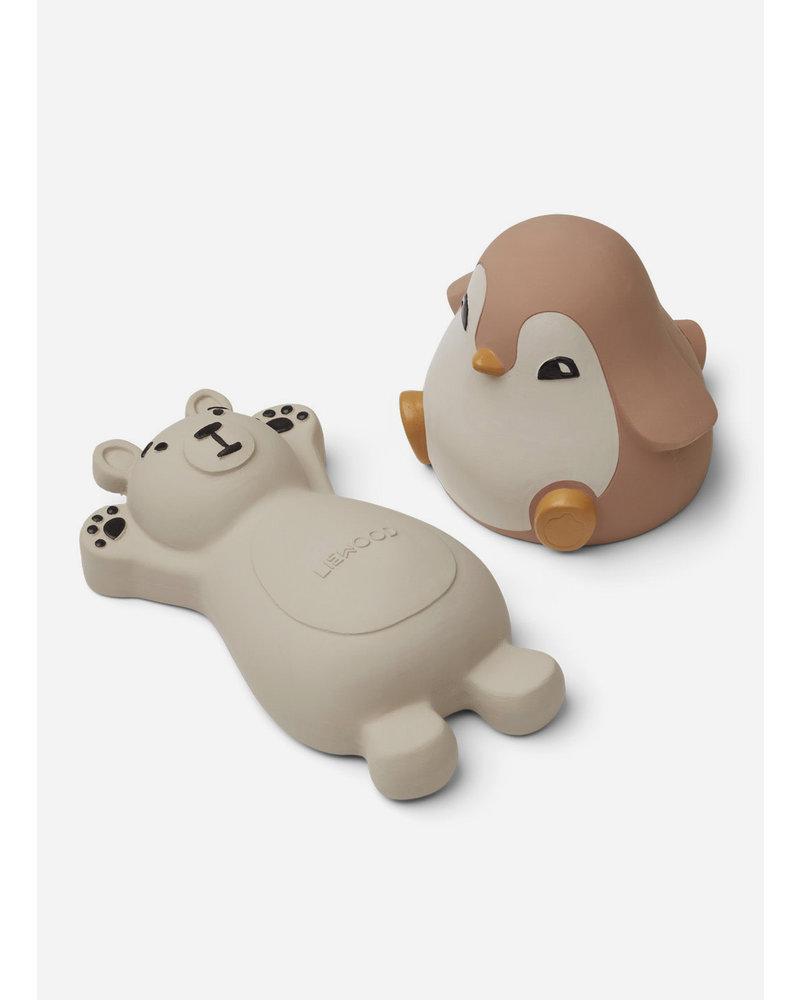 Liewood knud bath toys rose mix