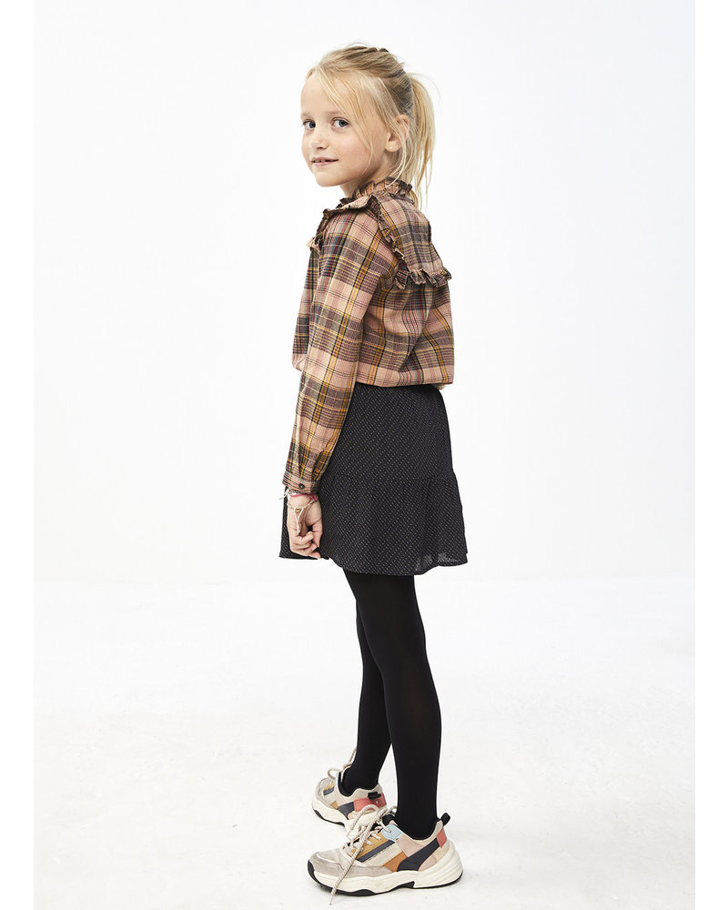By Bar valerie pink check blouse - old pink