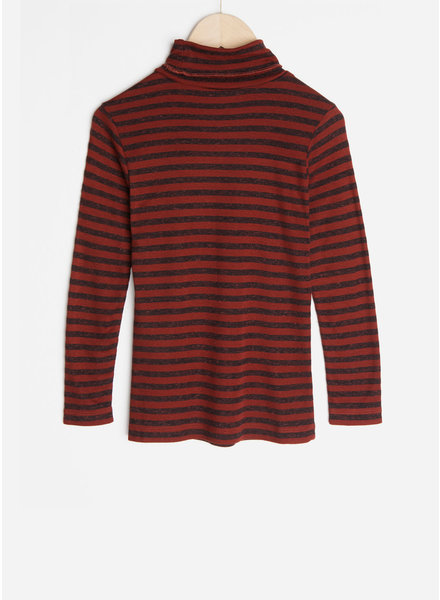 By Bar striped rollneck - pompeii
