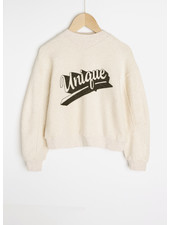 By Bar roxy sweater unique - stone