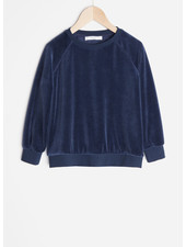 By Bar teddy velvet sweater - indigo blue
