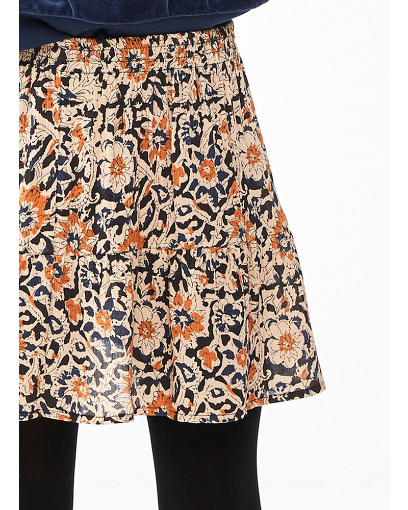 By Bar charlie sun flower skirt - indigo blue