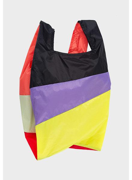 Susan Bijl shopping bag party black & lilac