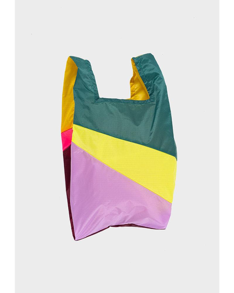 Susan Bijl shopping bag party helio & fluo pink