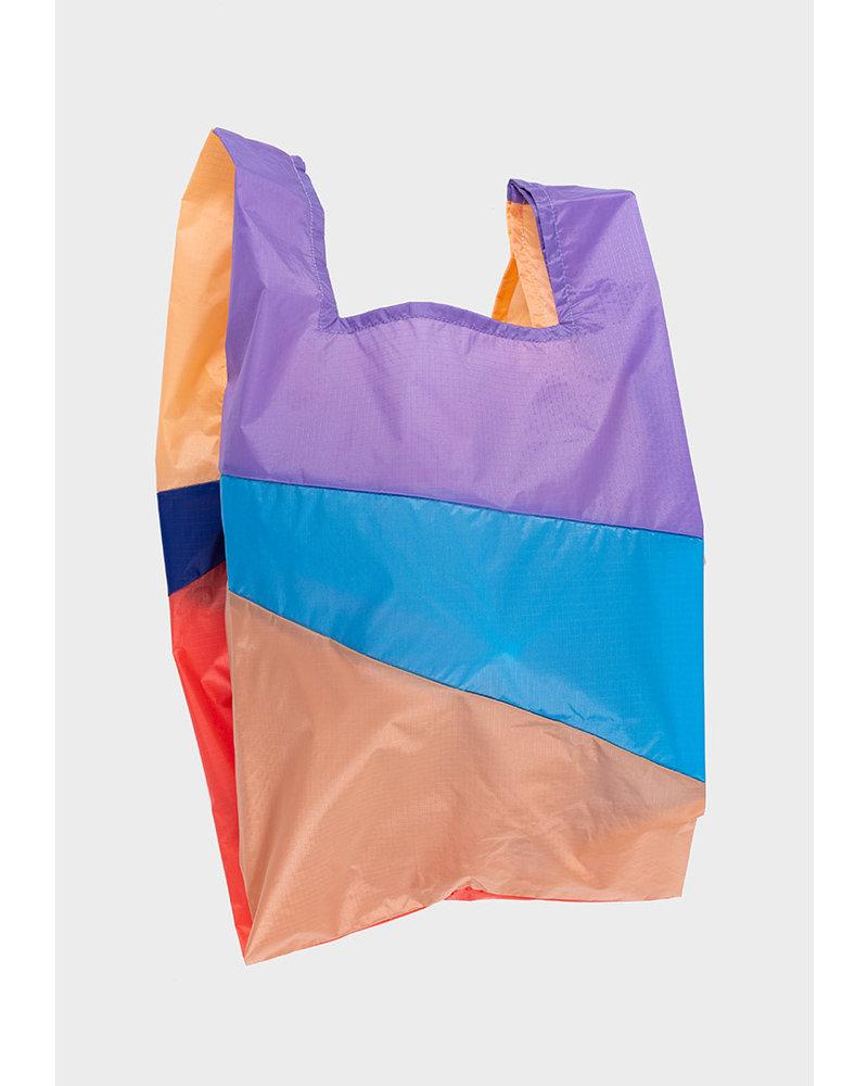 Susan Bijl shopping bag party powder & electric blue