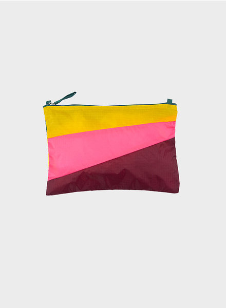 Susan Bijl pouch party helio & fluo pink
