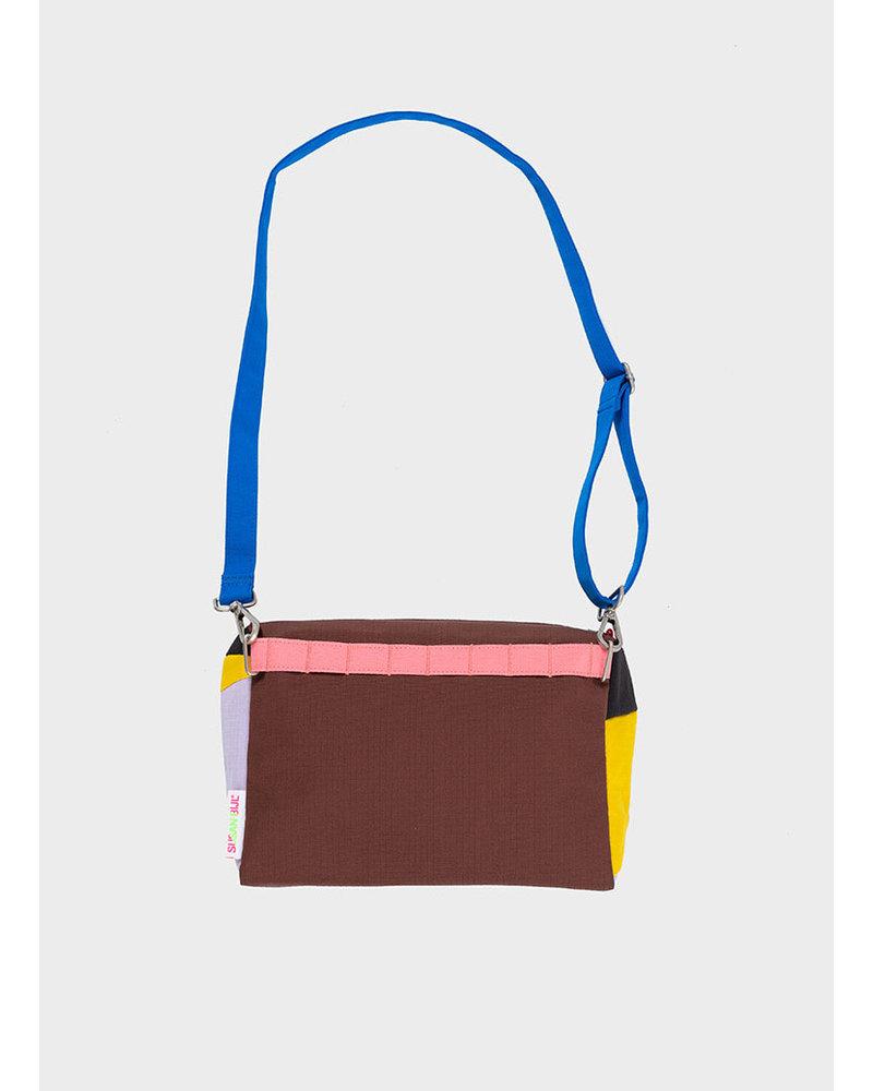 Susan Bijl bum bag party tv yellow