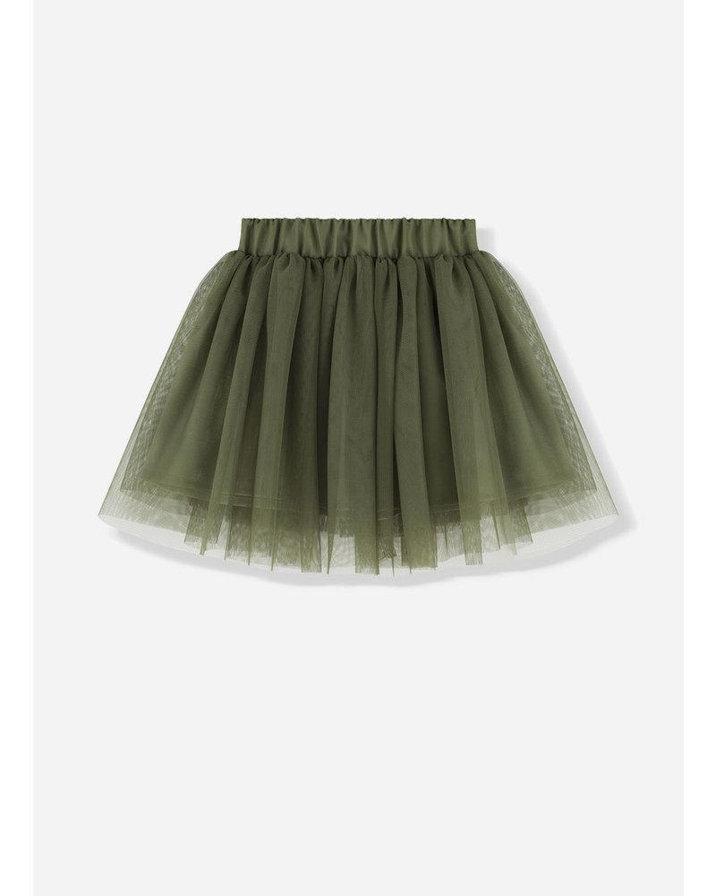 Kids on the moon evergreen tutu skirt